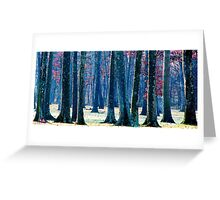A Gathering of Trees Greeting Card