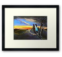 Collaboration with Redbubble Author, Enivea .....Dancing in the Dawn Framed Print