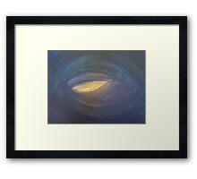 La Magdaleine - blue & grey Framed Print