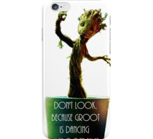 little.groot iPhone Case/Skin