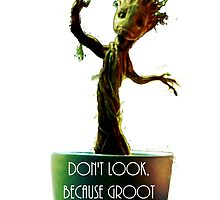 little.groot by ALLYOU
