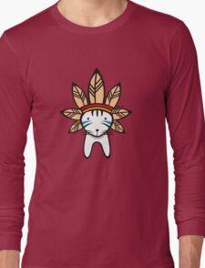 Mohawk Cat Long Sleeve T-Shirt