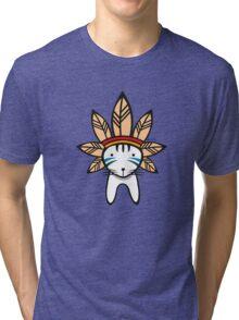 Mohawk Cat Tri-blend T-Shirt