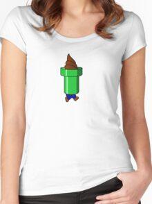 Bad Yoshi Ice Cream Cone Women's Fitted Scoop T-Shirt