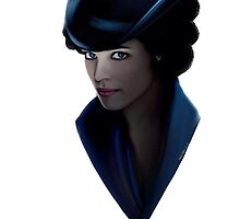 shelock holmes irene adler. by paoloballe