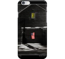 Secrets of the Patriot Poster iPhone Case/Skin