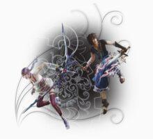 Final Fantasy XIII-2 - Serah Farron and Noel Kreiss T-Shirt