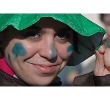 Cristina; sunny Face in Ireland Photographic Print