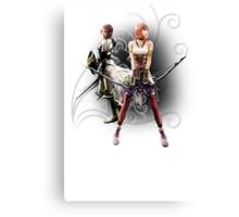 Final Fantasy XIII-2 - Lightning (Claire Farron) and Serah Farron Canvas Print