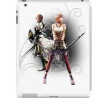 Final Fantasy XIII-2 - Lightning (Claire Farron) and Serah Farron iPad Case/Skin