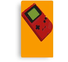 GameBoy Red Canvas Print