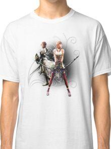 Final Fantasy XIII-2 - Lightning (Claire Farron) and Serah Farron Classic T-Shirt