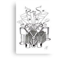 The Machine No. 1 Canvas Print