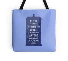 900 Years Tote Bag