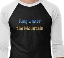 King Under the Mountain - Chrome Men's Baseball ¾ T-Shirt