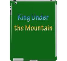 King Under the Mountain - Chrome iPad Case/Skin