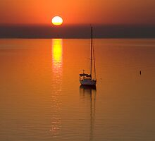 Lonely - Corio Bay Geelong by Hans Kawitzki