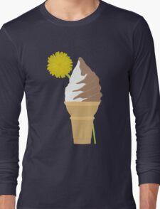 Dandelion's Chocolate and Vanilla Swirl Long Sleeve T-Shirt