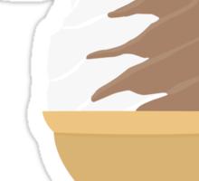 Dandelion's Chocolate and Vanilla Swirl Sticker
