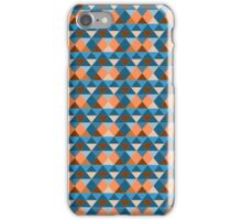 Retro triangle pattern iPhone Case/Skin