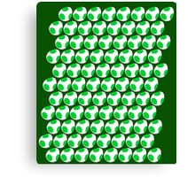 Yoshi Egg Repeating Canvas Print
