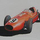 1957 Dino Ferrari 1860cc by PaulReddyoff