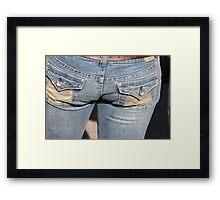 Ladies & Looks Framed Print
