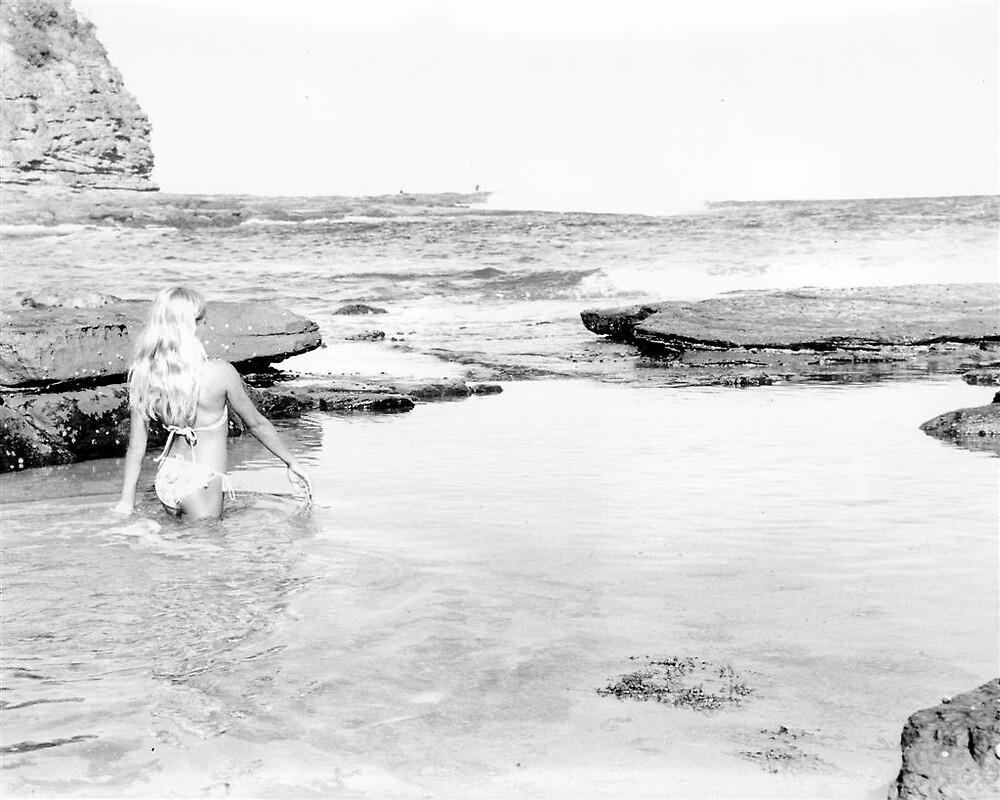 rock pool by johnbrooks