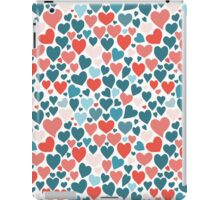 Funny hearts pattern iPad Case/Skin