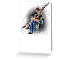 Final Fantasy XIII -  Oerba Yun Fang Greeting Card