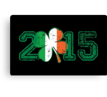 2015 St Patrick's Day Canvas Print
