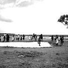 Kids on the Beach by Daniel Neuhaus