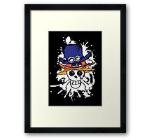 The brotherhood flag Framed Print