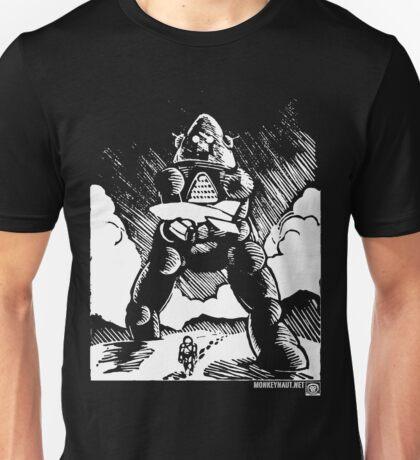 Astronaut's Best Friend (White Version) Unisex T-Shirt