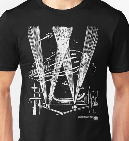 Night Traffic, Whitehall Hoverport (White Version) Unisex T-Shirt
