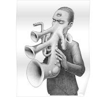 Musical Anatomy: Adolphus Poster