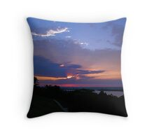 All these storms Throw Pillow