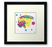 Kirby Super Star Rod Framed Print