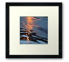 Reflections xvii - digital photography Framed Print
