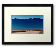Badwater Basin Framed Print