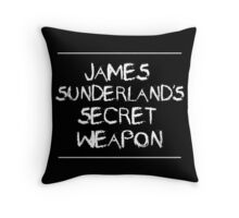 James Sunderland's Secret Weapon Throw Pillow