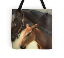 Yankee Taboo and Foal Tote Bag