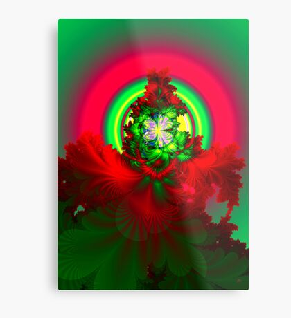 Nature's Glow Metal Print