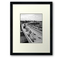 U2 VIE Framed Print