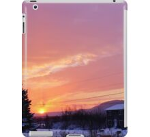 Sunset After the Snowstorm II iPad Case/Skin