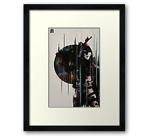 Hunter Framed Print