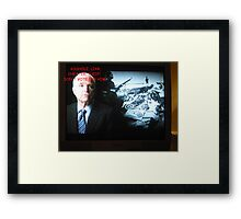 The Truth About Politics Framed Print