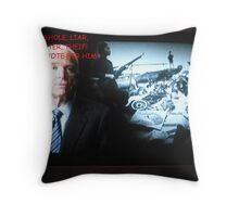 The Truth About Politics Throw Pillow