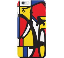 Mondrian Bicycle iPhone Case/Skin