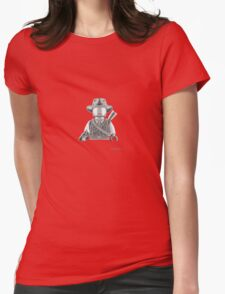 The Gunman Womens Fitted T-Shirt